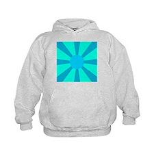 Blue Rays Hoodie