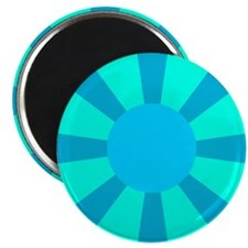 "Blue Rays 2.25"" Magnet (10 pack)"