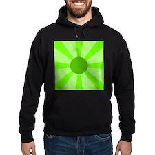 Green Rays Hoodie