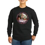 We're All Quite Mad Long Sleeve Dark T-Shirt