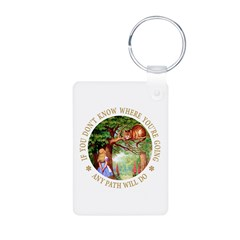 Any Path Will Do Keychains