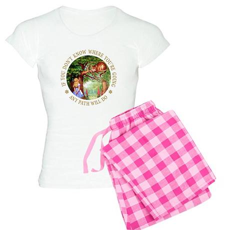 Any Path Will Do Women's Light Pajamas