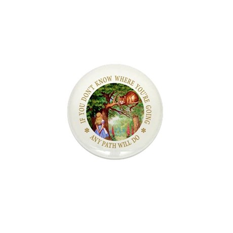Any Path Will Do Mini Button (10 pack)