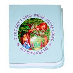 Any Path Will Do baby blanket