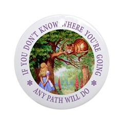 Any Path Will Do Ornament (Round)