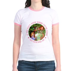 Any Path Will Do Jr. Ringer T-Shirt