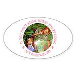 Any Path Will Do Sticker (Oval 50 pk)