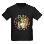 Any Path Will Do Kids Dark T-Shirt