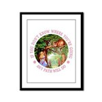 Any Path Will Do Framed Panel Print