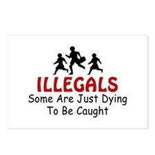 Border Security Illegals Dyin Postcards (Package o