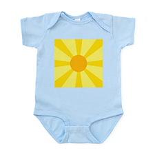 Yellow Rays Infant Bodysuit
