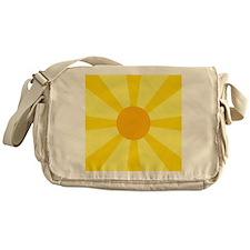 Yellow Rays Messenger Bag