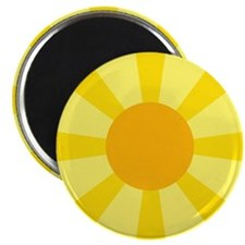 "Yellow Rays 2.25"" Magnet (10 pack)"