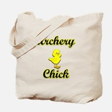Archery Chick Tote Bag