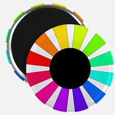 "Rainbow Rays 2.25"" Magnet (100 pack)"
