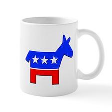 Democrat Donkey Logo Mug