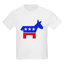 Democrat Donkey Logo Kids T-Shirt