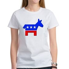 Democrat Donkey Logo (Front) Tee