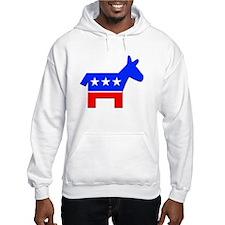 Democrat Donkey Logo (Front) Hoodie