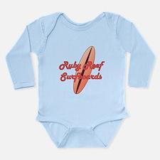 Ruby Reef Surfboards Long Sleeve Infant Bodysuit