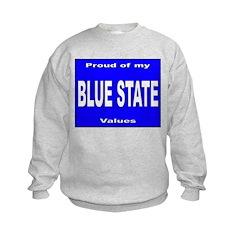 Blue State Values Sweatshirt