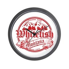 Whitefish Old Circle 2 Wall Clock