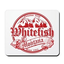 Whitefish Old Circle 2 Mousepad