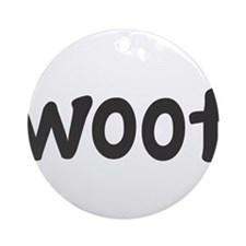 woof Ornament (Round)