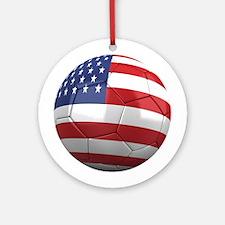 Team USA Ornament (Round)