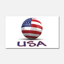 Team USA Car Magnet 20 x 12