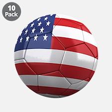 """Team USA 3.5"""" Button (10 pack)"""
