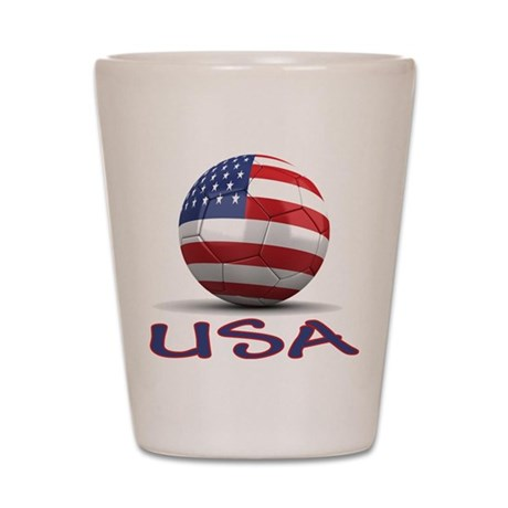 Team USA Shot Glass