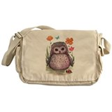 Owl Messenger Bags & Laptop Bags