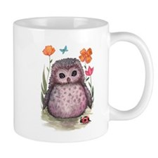 Purple Portly Owlet Mug