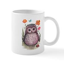 Purple Portly Owlet Mug
