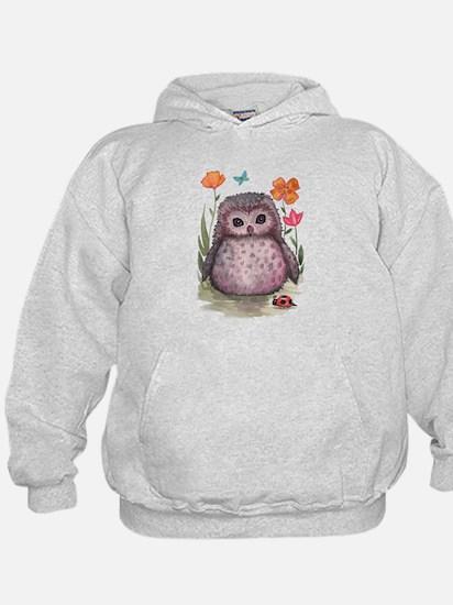 Purple Portly Owlet Hoodie