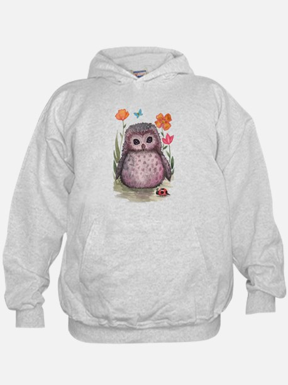 Purple Portly Owlet Hoody