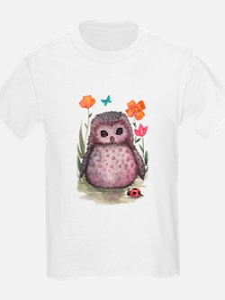 Purple Portly Owlet T-Shirt