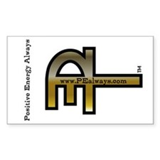 Sticker (Gold - Rectangle)
