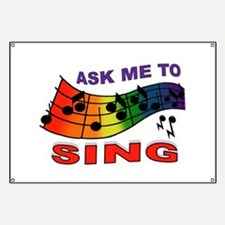 SING TO ME Banner