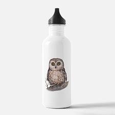 Wide Eyed Owl Water Bottle