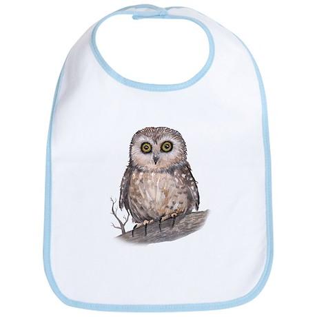 Wide Eyed Owl Bib