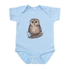 Wide Eyed Owl Infant Bodysuit