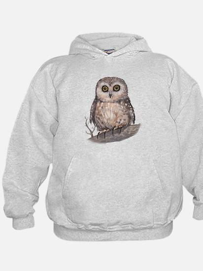 Wide Eyed Owl Hoody