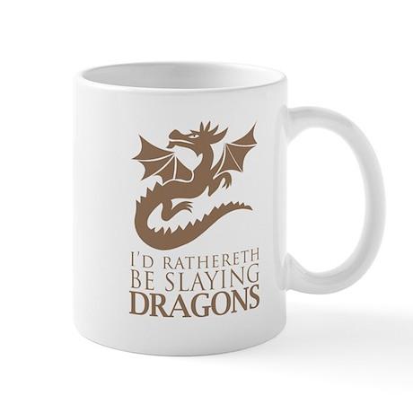 I'd Rathereth Be Slaying Drag Mug