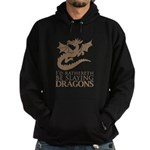 I'd Rathereth Be Slaying Drag Hoodie (dark)