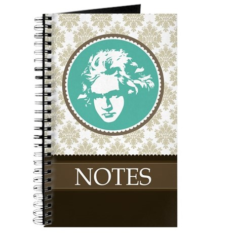 Beethoven Classical Music Gift Journal