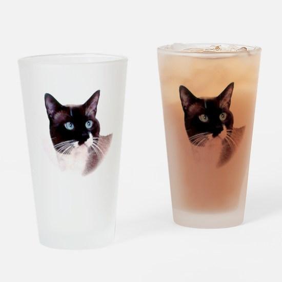 Snowshoe Cat Drinking Glass