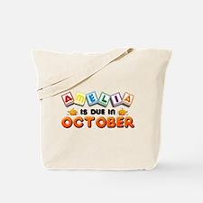 Amelia is Due in October Tote Bag