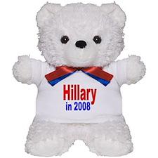 Hillary in 2008 Teddy Bear